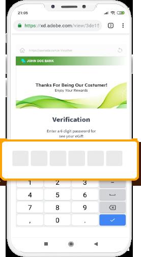 Step 2 = Memasukkan 6 digit PIN yang diterima melalui SMS.
