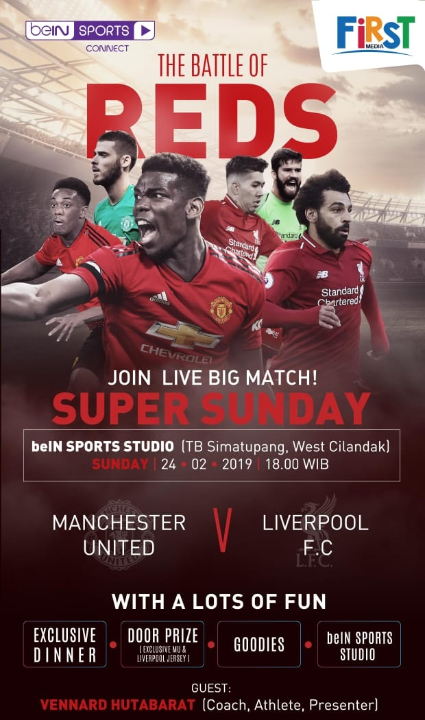 Nobar beIN - The Battle of Reds image